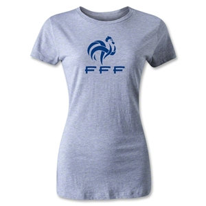 France FFF Women's T-Shirt (Gray)