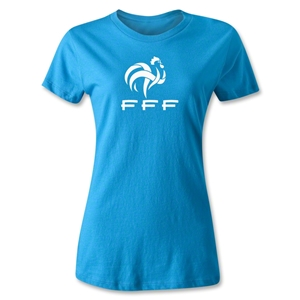 France FFF Women's T-Shirt (Turquoise)