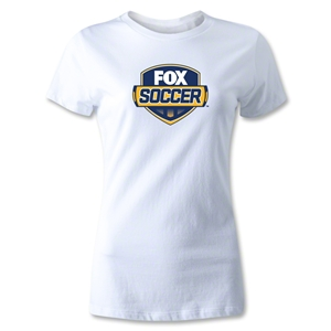 Fox Soccer Women's T-Shirt (White)