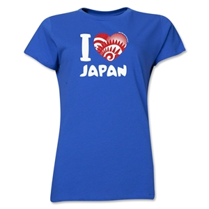 I Heart Japan 2014 FIFA World Cup Brazil(TM) Women's T-Shirt (Royal)