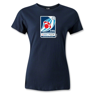 FIFA Interactive World Cup Women's Emblem T-Shirt (Navy)