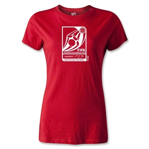 FIFA Interactive World Cup Women's Emblem T-Shirt (Red)