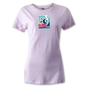 FIFA Men's U20 World Cup 2013 Women's Event Emblem T-Shirt (Pink)