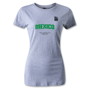FIFA U-20 World Cup Turkey Women's Mexico T-Shirt (Gray)