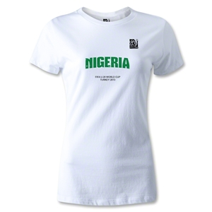 FIFA U-20 World Cup 2013 Women's Nigeria T-Shirt (White)