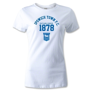 Ipswich Established Women's T-Shirt (White)