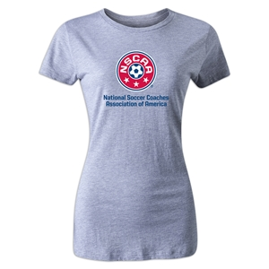 NSCAA Women's T-Shirt (Gray)