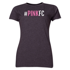 Pink FC Women's T-Shirt (Dark Gray)