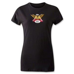 Old White Women's Logo T-Shirt (Black)
