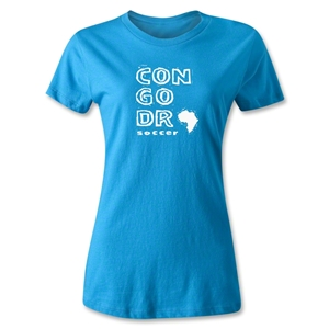 Congo DR Women's Country T-Shirt (Turqouise)