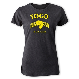 Togo Women's Country T-Shirt (Dark Gray)