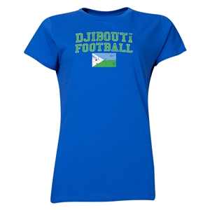 Djibouti Women's Football T-Shirt (Royal)