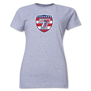 USA Sevens Rugby Women's T-Shirt (Gray)