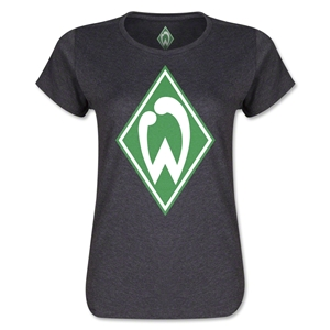 Werder Bremen Crest Women's T-Shirt (Dark Gray)