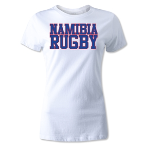 Namibia Women's Rugby Supporter T-Shirt (White)