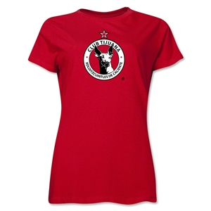 Xolos de Tijuana Women's T-Shirt (Red)