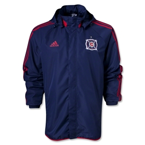Chicago Fire Rain Jacket