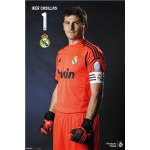 Real Madrid Casillas Profile Poster