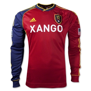 Real Salt Lake 2013 Authentic LS Primary Soccer Jersey