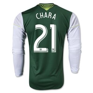 Portland Timbers 2014 CHARA LS Authentic Primary Soccer Jersey