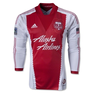 Portland Timbers 2013 Authentic LS Secondary Soccer Jersey