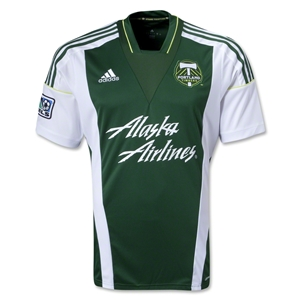 Portland Timbers 2014 Replica Primary Soccer Jersey