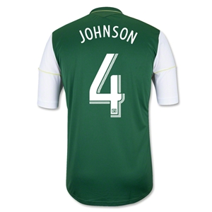Portland Timbers 2014 JOHNSON Primary Soccer Jersey