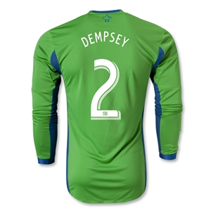 Seattle Sounders FC 2013 DEMPSEY Authentic LS Primary Soccer Jersey