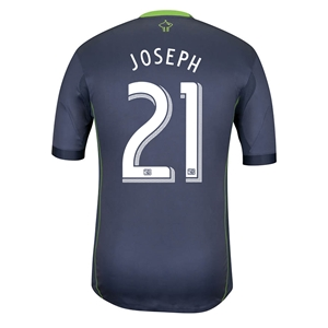 Seattle Sounders 2014 JOSEPH Authentic Secondary Soccer Jersey