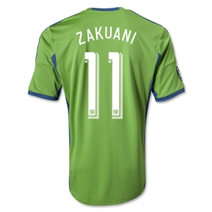 Seattle Sounders FC 2014 ZAKUANI Primary Soccer Jersey