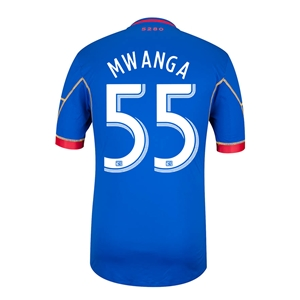 Colorado Rapids 2014 MWANGA Authentic Secondary Soccer Jersey