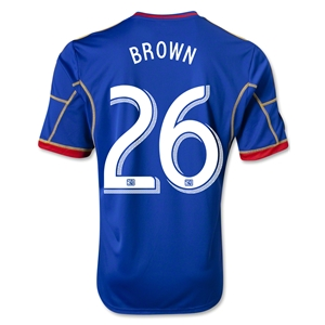 Colorado Rapids 2013 BROWN Secondary Soccer Jersey