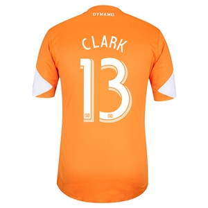 Houston Dynamo 2013 CLARK Authentic Primary Soccer Jersey