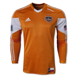 Houston Dynamo 2013 Authentic LS Primary Soccer Jersey