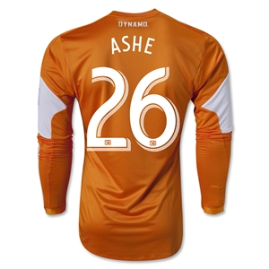 Houston Dynamo 2013 ASHE LS Authentic Primary Soccer Jersey