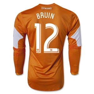 Houston Dynamo 2013 BRUIN LS Authentic Primary Soccer Jersey