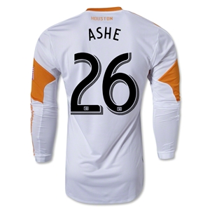 Houston Dynamo 2013 ASHE LS Authentic Secondary Soccer Jersey