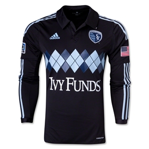 Sporting KC 2014 Authentic LS Third Soccer Jersey