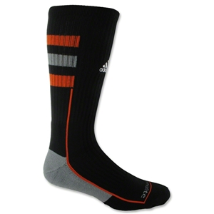 adidas Team Speed Crew Sock (Blk/Orange)