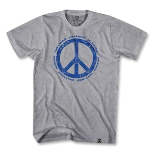 Objectivo Peace & Soccer T-Shirt (Gray)