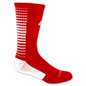 adidas Team Speed Vertical Crew Sock (Sc/Wh)