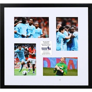 Manchester City The Joy of Six Small Frame