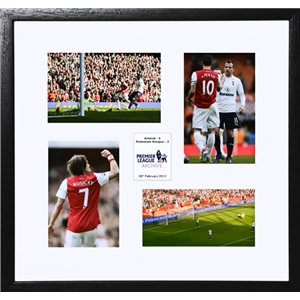 Arsenal A Walc in the Park Small Frame