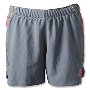 adidas Women's SpeedKick 2-in-1 Short (Gray)