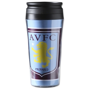 Aston Villa Logo Travel Mug