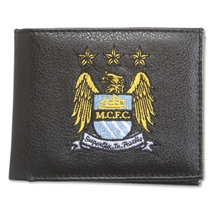 Manchester City Crest Embroidered Wallet