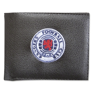 Rangers Crest Embroidered Wallet