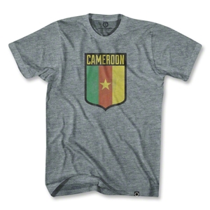 Cameroon Star Shield T-Shirt (Gray)