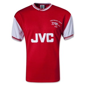 Arsenal 1985 Centenary Home Soccer Jersey