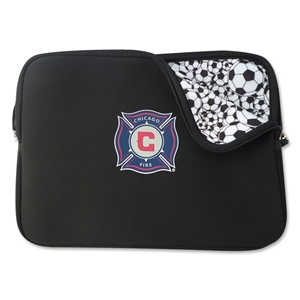 Chicago Fire Neoprene Laptop Cover